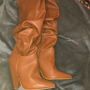 Chestnut Brown Boots